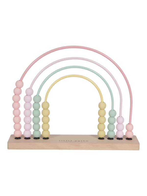 Abac din lemn roz