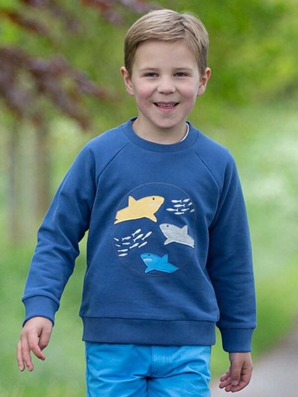 Bluză băieţi, imprimeu rechini