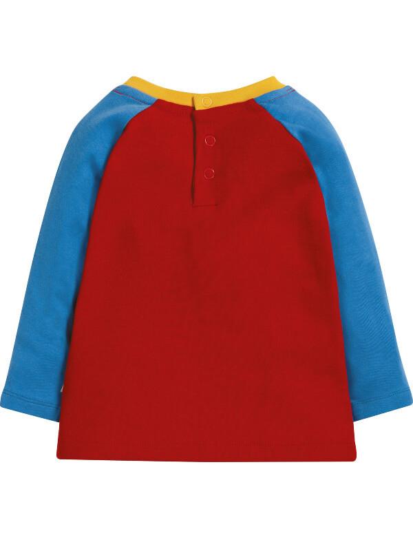Bluză bebe Henry, imprimeu balenă