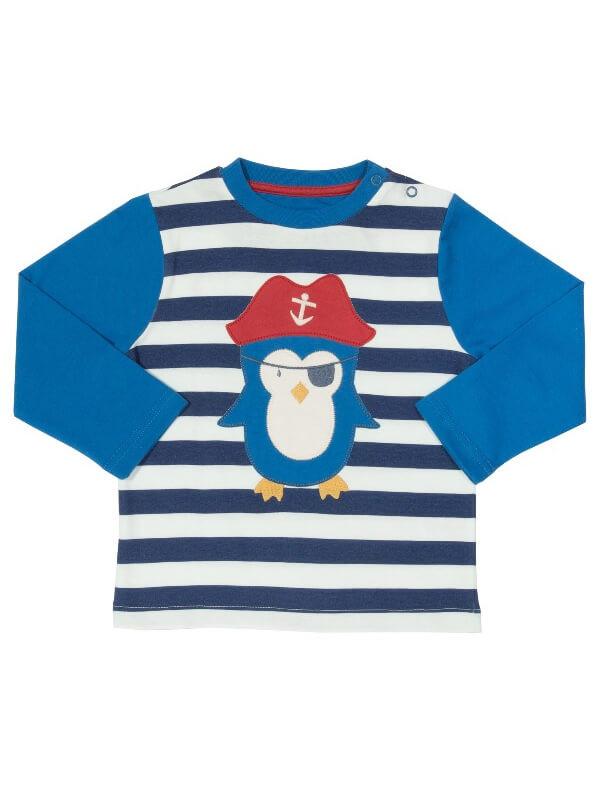 Bluză bebe Pinguinul Pirat