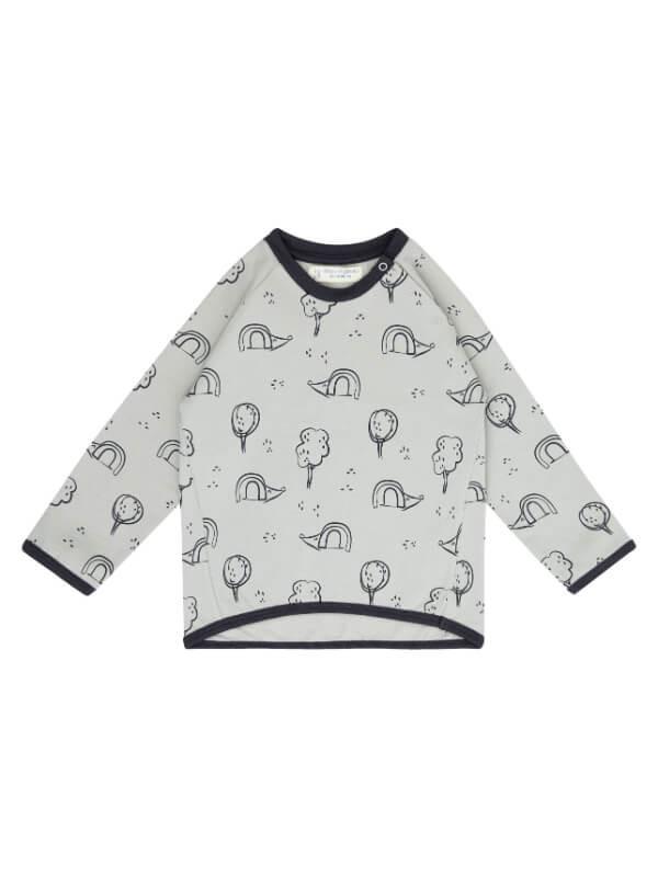 Bluză bebeluşi Etu, imprimeu arici