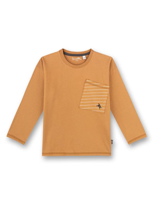 Bluză casual băieţi Sanetta Pure Cu Buzunar