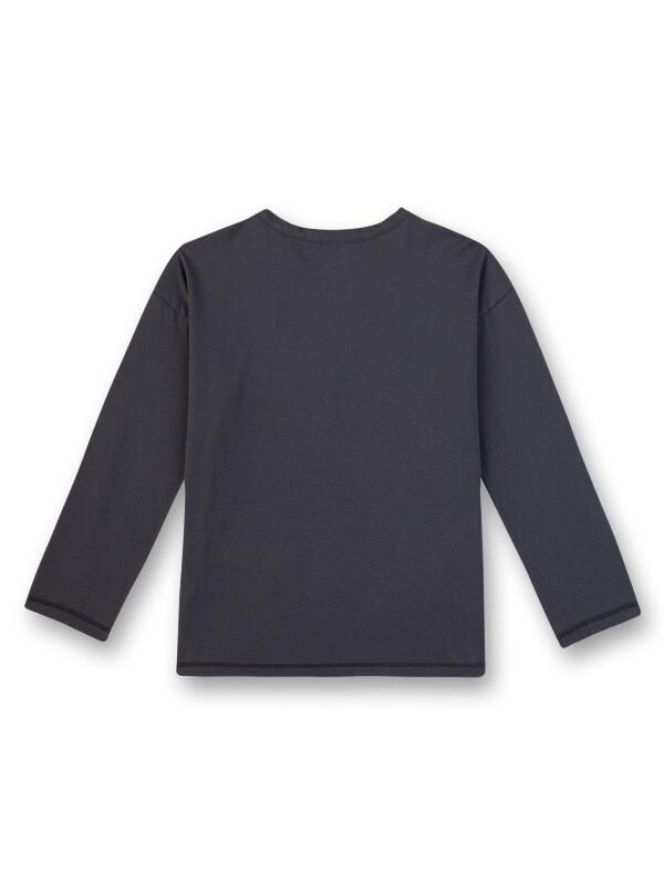 Bluză cu buzunare contrastante Sanetta Pure