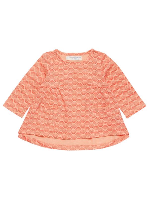 Bluză cu mânecă lungă Edith, roz somon