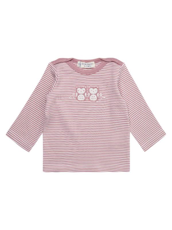 Bluză din bumbac organic Luna roz