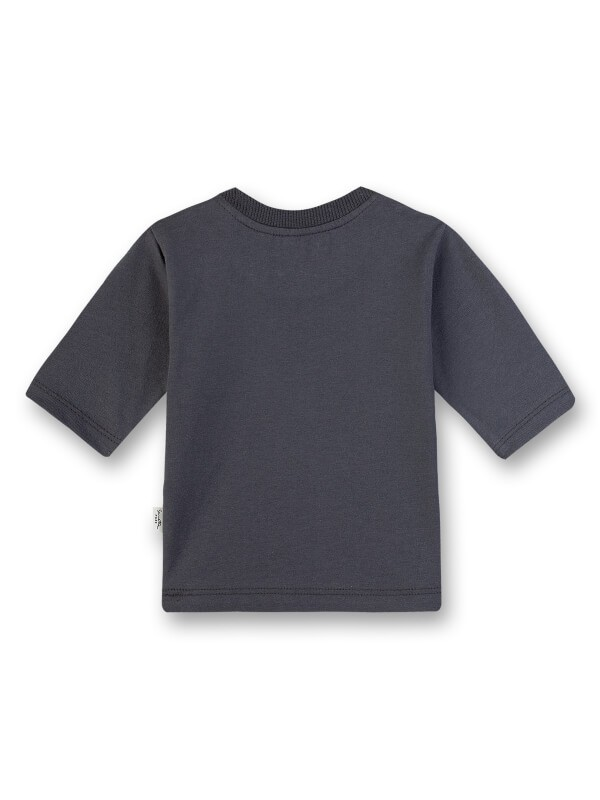 Bluză din bumbac organic Sanetta Pure, gri