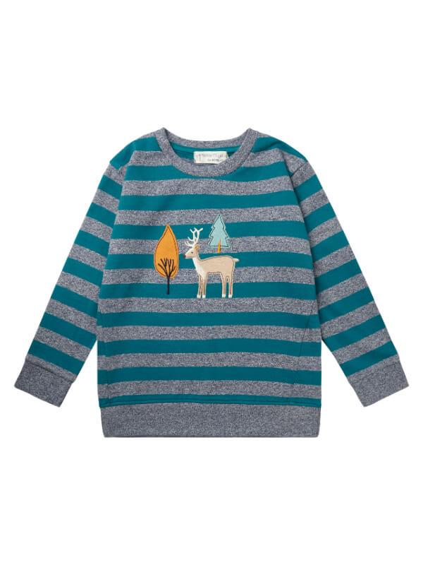 Bluză Finn Stripes Deers