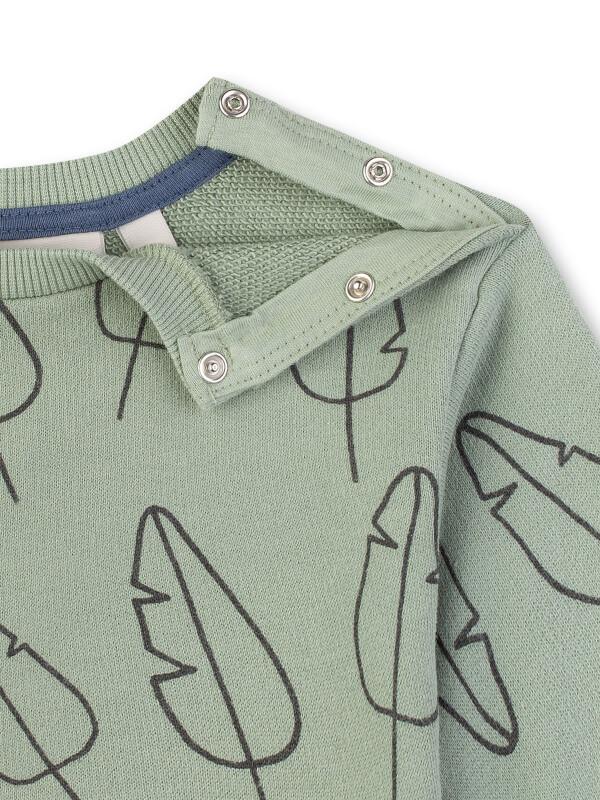 Bluză mânecă lungă Sanetta Pure, verde