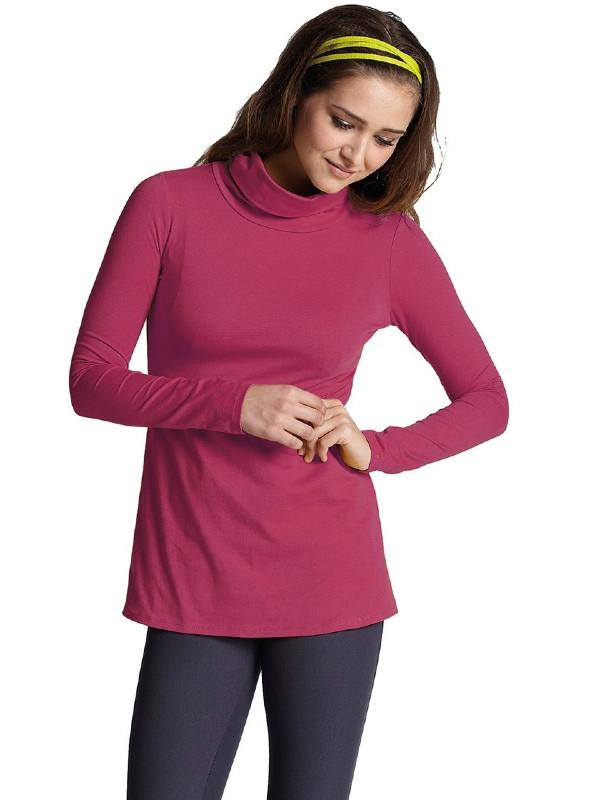 Bluză roz pentru alăptare