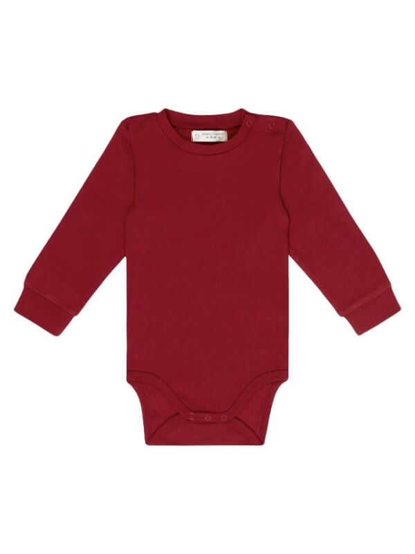 Body bumbac organic Milan Red