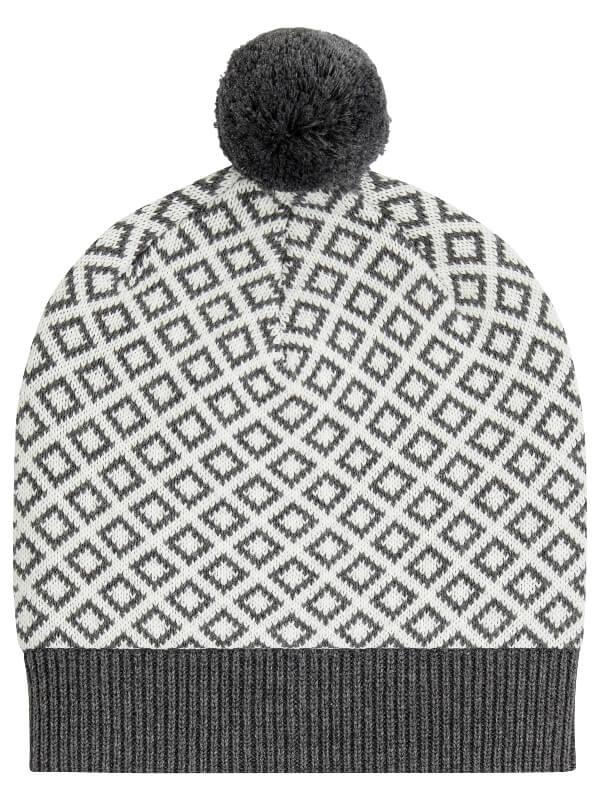 Căciulă tricotată Rudolfo Dark Grey