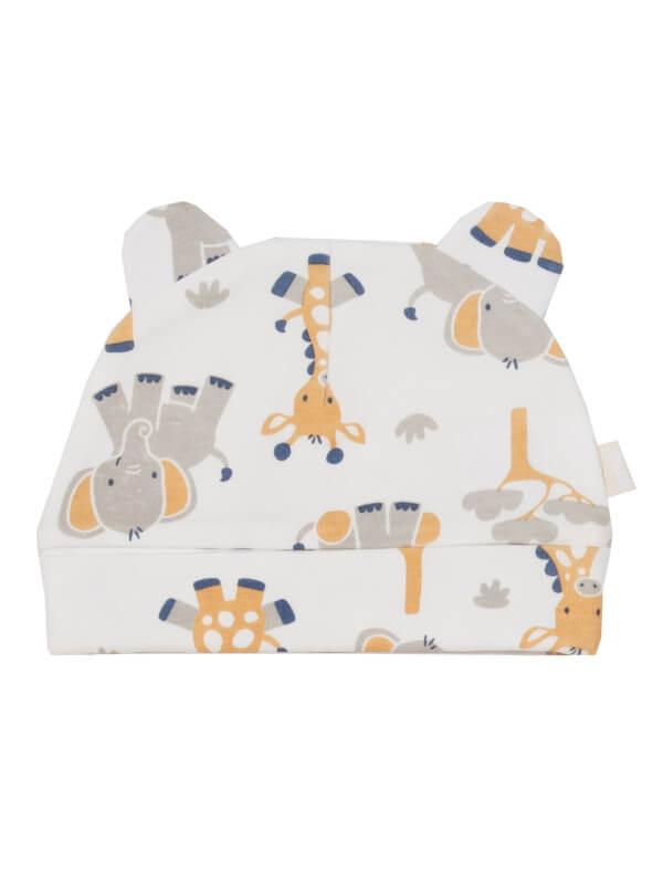 Căciuliţă bebe Giraffe, bumbac organic