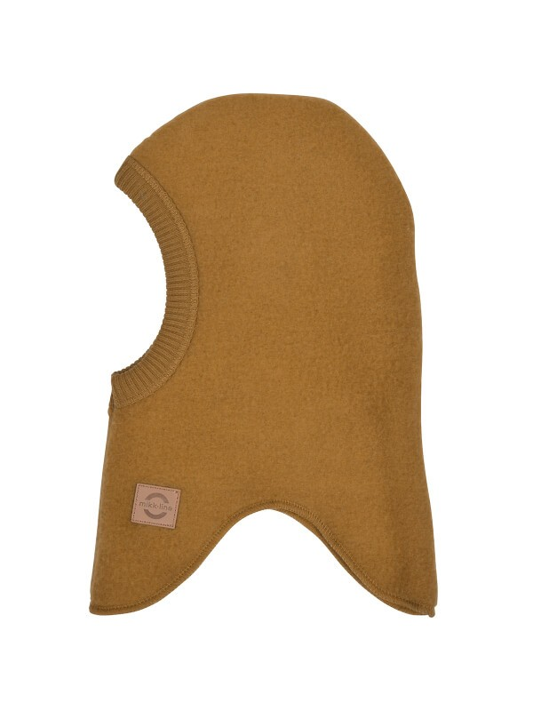 Cagulă lână fleece copii Golden Brown