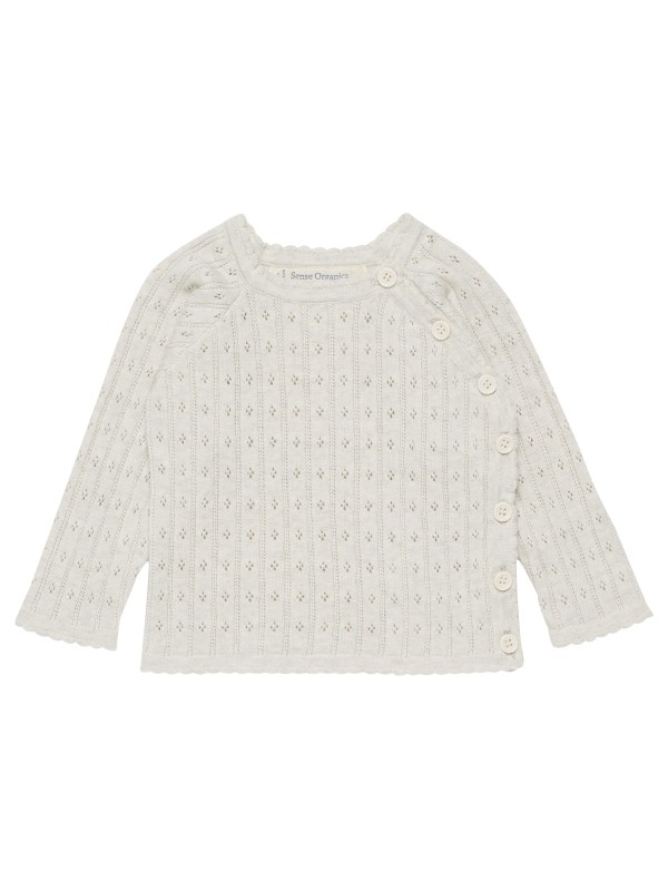 Cardigan tricotat Ivory Picasso