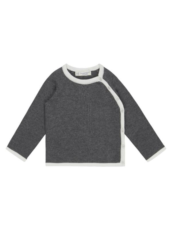 Cardigan tricotat Picasso Dark Grey