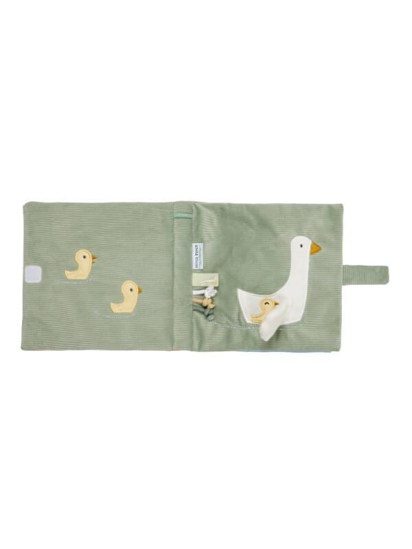 Cărticică senzorială bebeluşi Little Goose