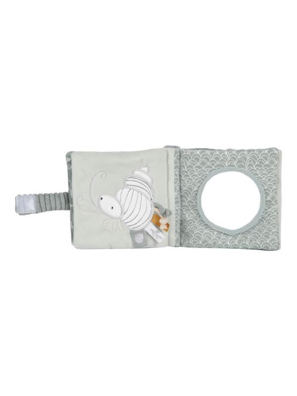 Cărticică senzorială bebeluşi Ocean Mint