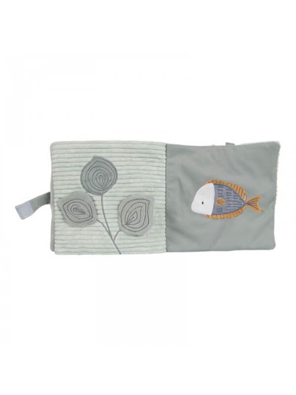 Cărticică senzorială moale Ocean Mint