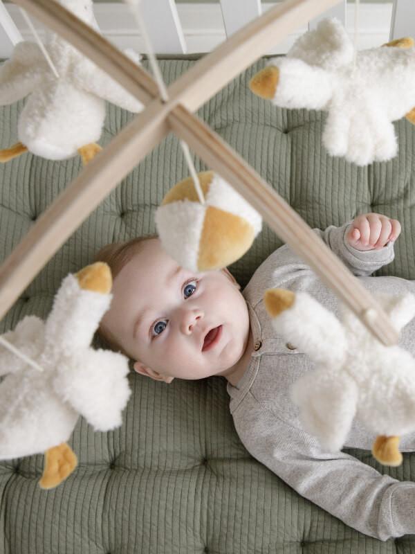 Carusel muzical lemn Little Goose