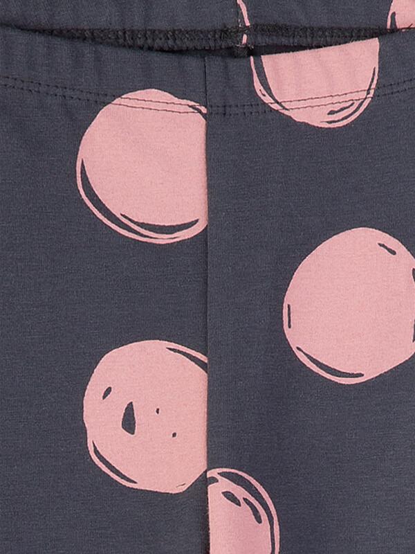 Colanţi fete Sanetta Pure, buline roz
