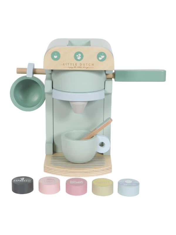 Espressor cafea lemn