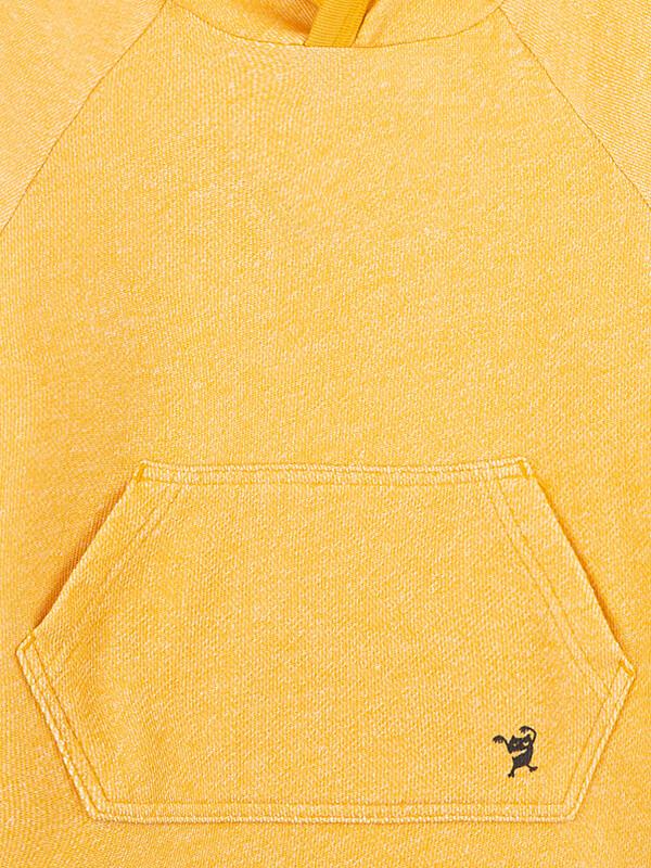 Hanorac cu glugă Monster galben
