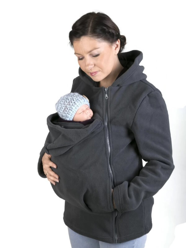 Hanorac pentru babywearing Basic Graphite