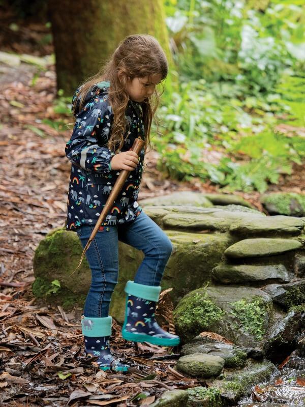 Jachetă impermeabilă Puddle Buster Rainbow Walks