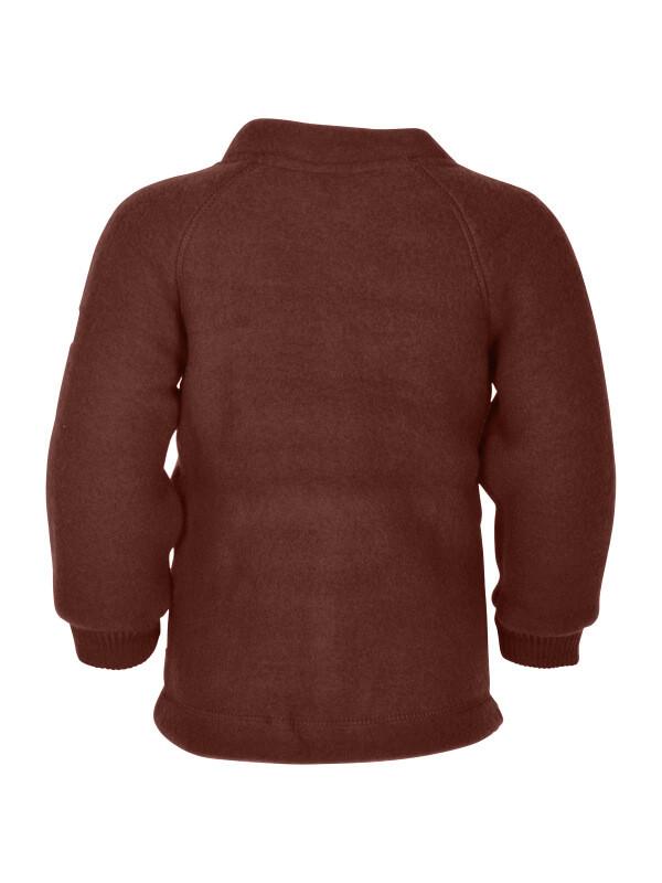 Jachetă copii lână fleece Madder Brown