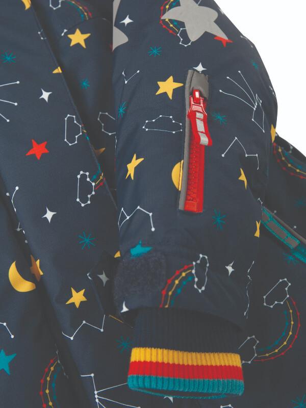 Jachetă copii Snow and Ski, imprimeu stele