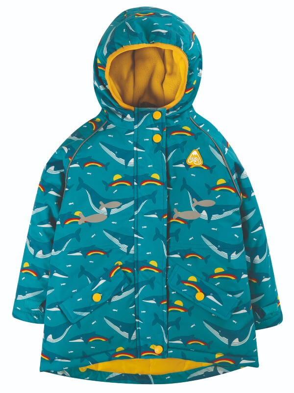 Jachetă impermeabilă Explorer Rainbow Whales