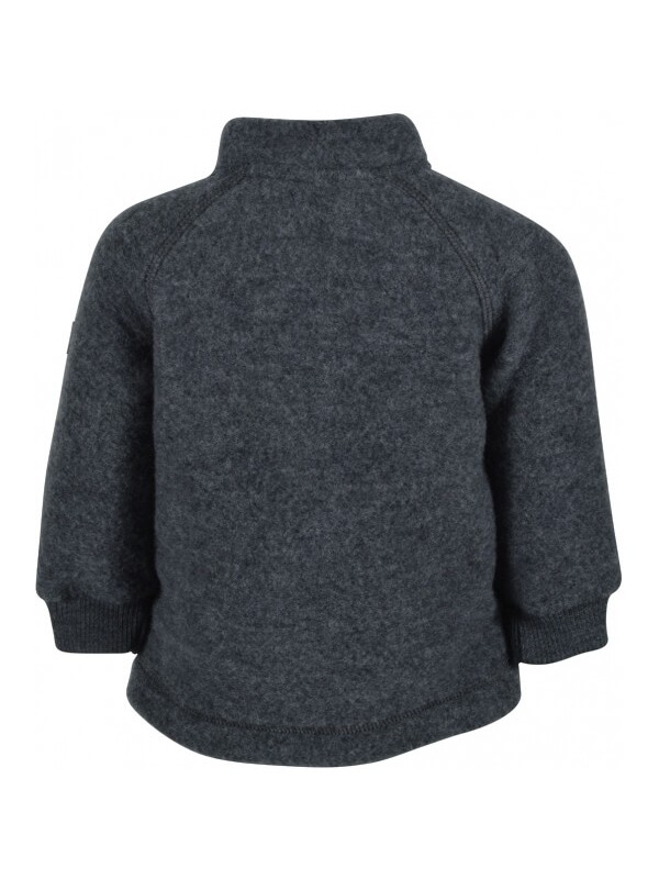 Jachetă copii lână fleece Grey