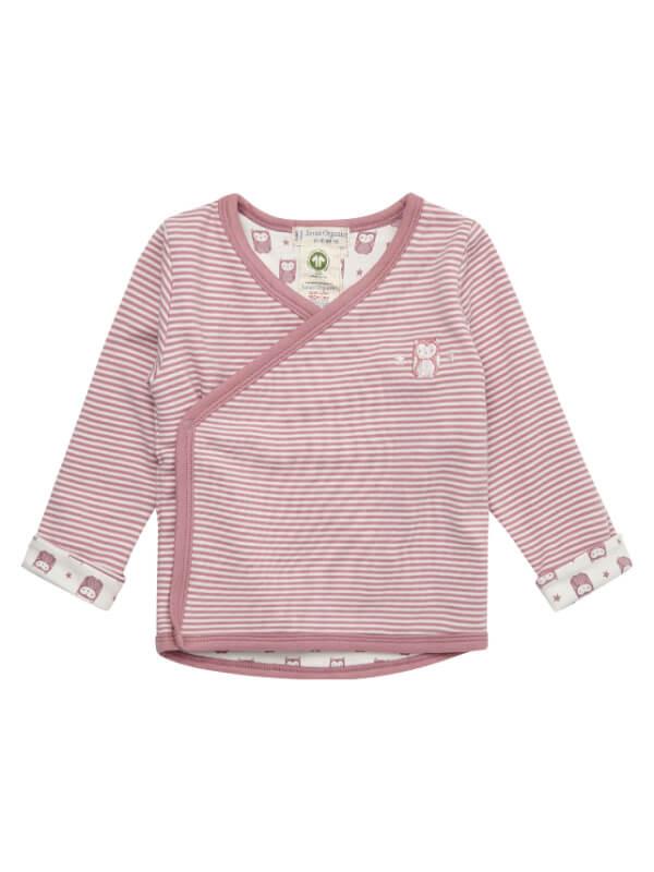 Jachetă reversibilă din bumbac organic Wanda, roz
