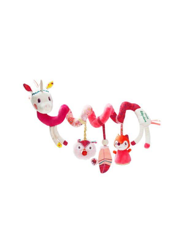 Jucărie activităţi spirală Unicorn Louise