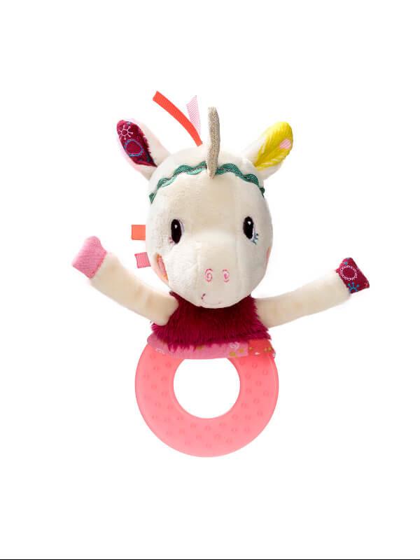 Jucărie dentiţie Unicorn Louise