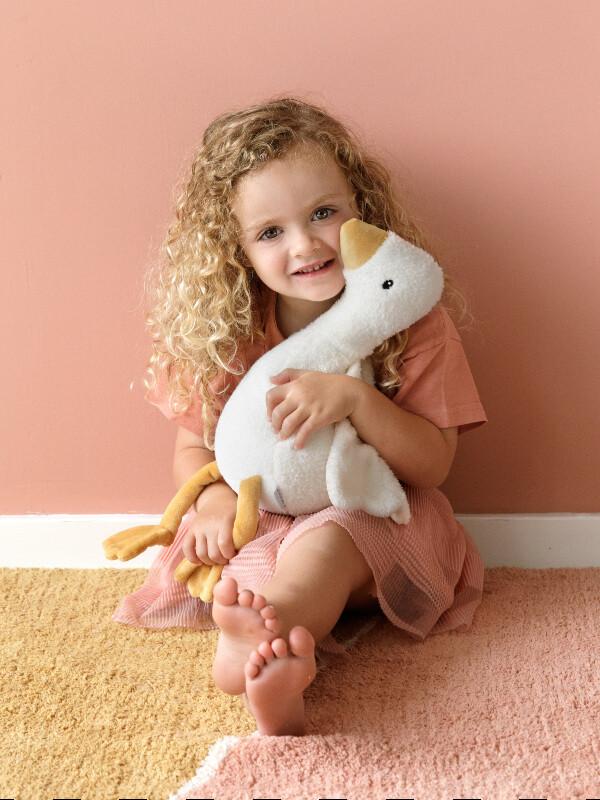 Jucărie pluş 30 cm Little Goose