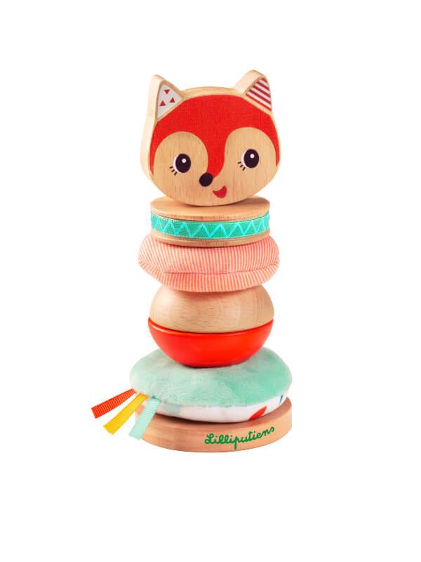 Jucărie stivuire Piramida Alice
