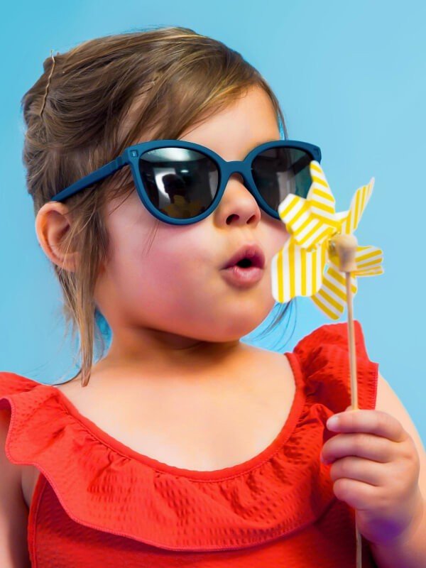Ochelari soare copii Butterfly Denim 4-6 ani