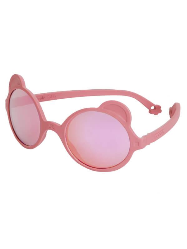 Ochelari soare copii Ourson Antik Pink, 2-4 ani