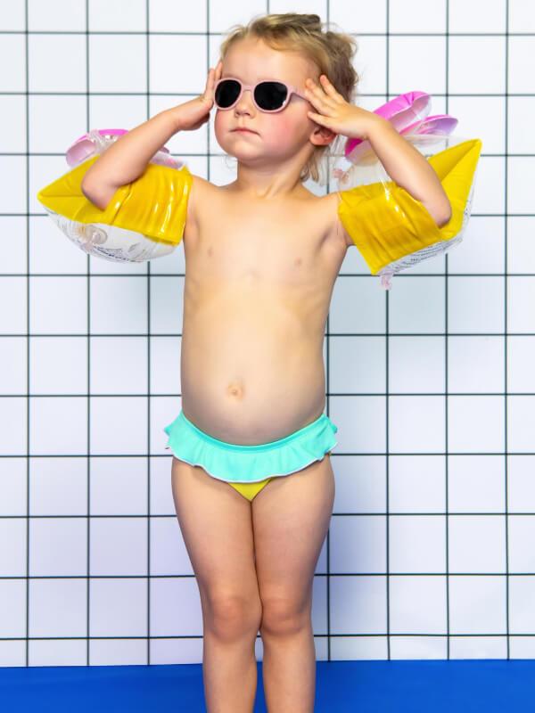 Ochelari soare copii Wazz Blush, 2-4 ani