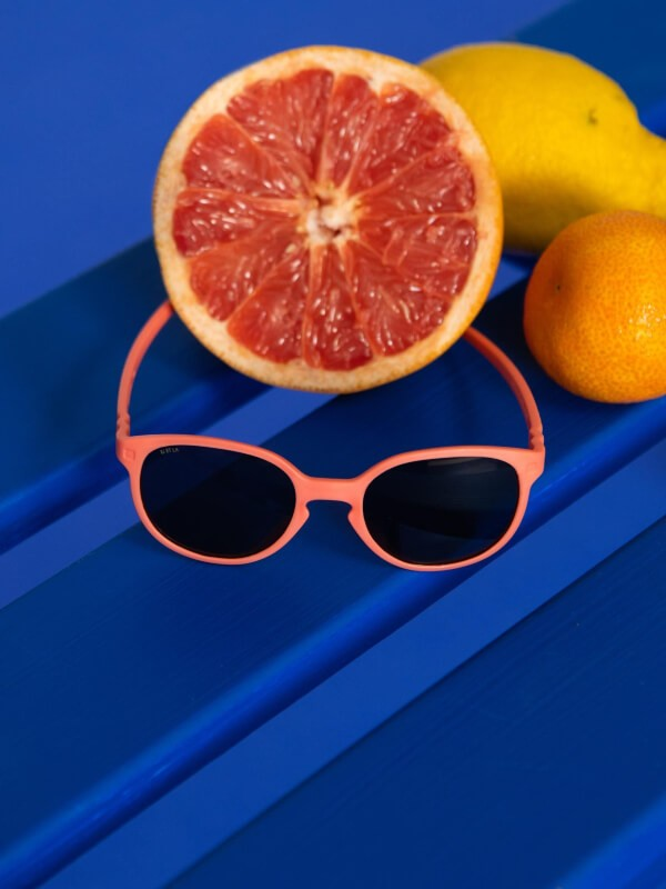 Ochelari soare copii Wazz Grapefruit, 1-2 ani