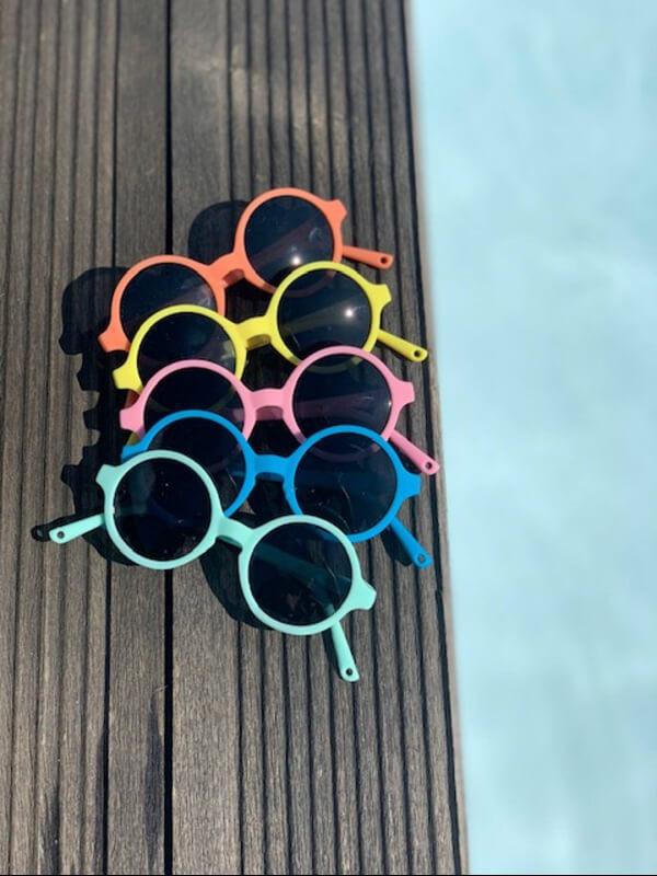 Ochelari soare copii Woam Pink, 2-4 ani