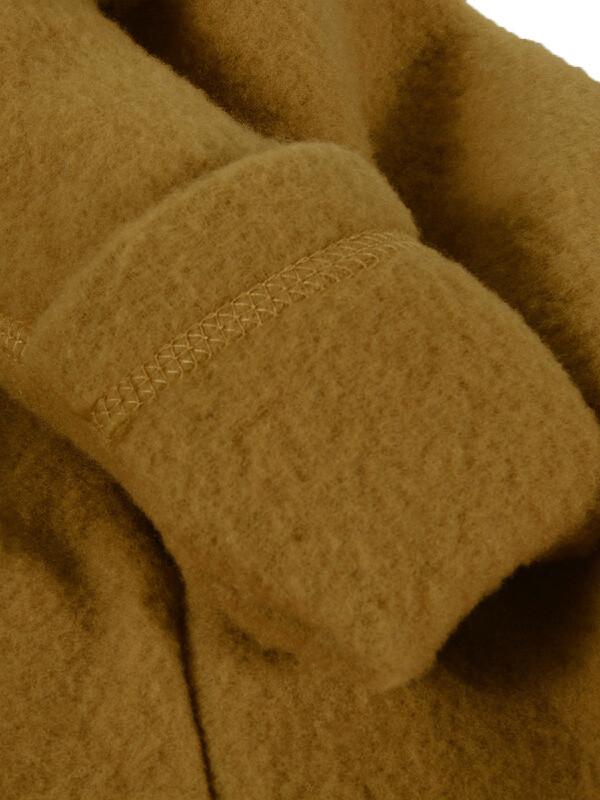 Overall cu mănuşi, lână fleece Golden Brown
