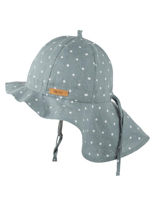 Pălărie ajustabilă din in Mint