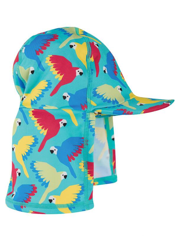 Pălărie protecţie solară Aqua Parrots