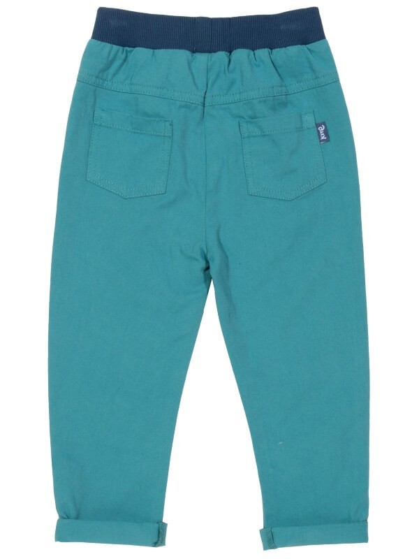 Pantaloni bebe din twill