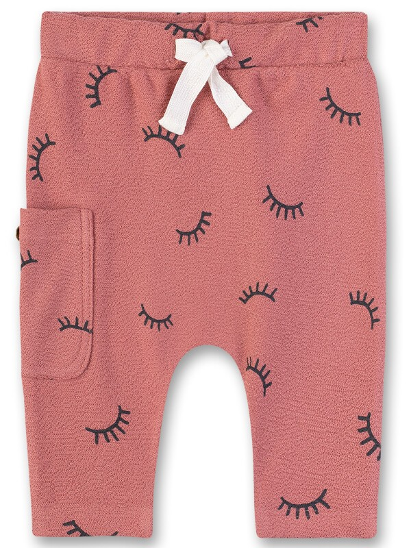Pantaloni bebe Sanetta Pure, roz