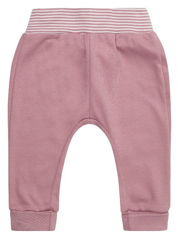 Pantaloni bebe Yoy, roz