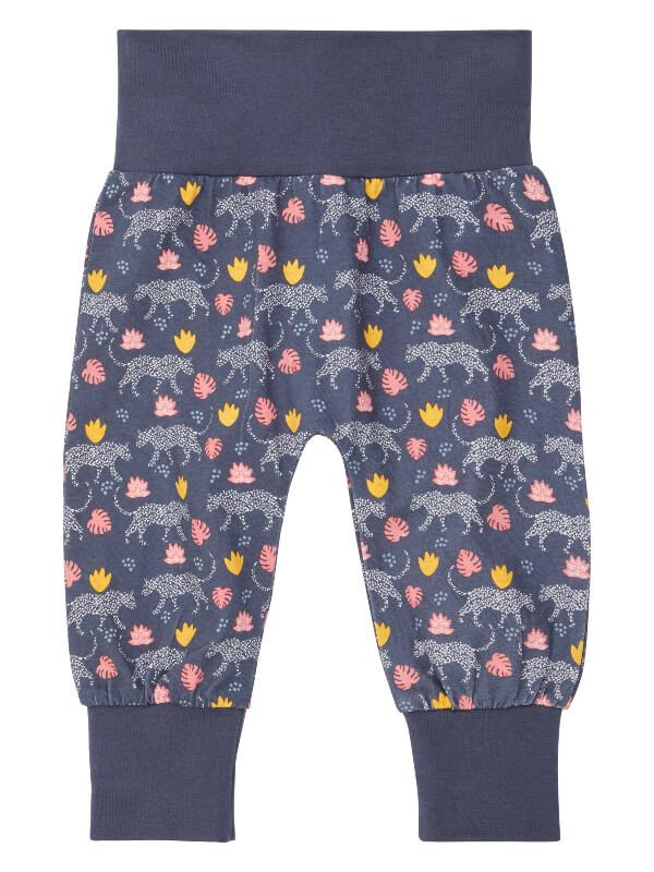 Pantaloni bumbac organic Sjors Leopards