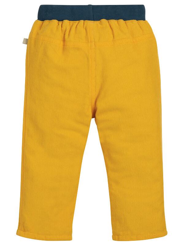 Pantaloni căptuşiţi din catifea bebe
